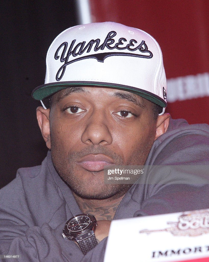 Rapper Prodigy attends the 2012 Rock The Bells Festival Press Conference And Fan Appreciation Party on June 13, 2012 in New York City.