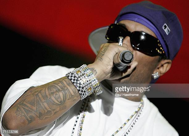 Rapper Prodigy of Mobb Deep performs during the 13th Annual Hot 97's Summer Jam at Giants Stadium June 4 2006 in East Rutherford New Jersey