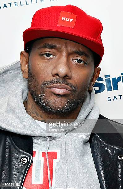 Rapper Prodigy of Mobb Deep visits the SiriusXM Studios on March 27 2014 in New York City
