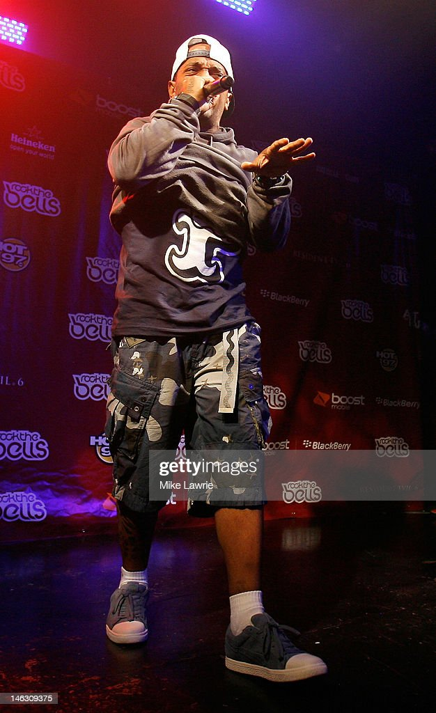 Rapper Prodigy performs during the 2012 Rock the Bells Festival press conference and Fan Appreciation Party on at Santos Party House on June 13, 2012 in New York City.