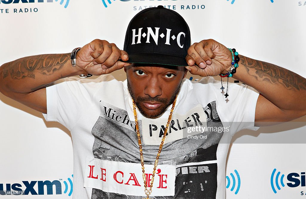 Rapper Prodigy visits the SiriusXM Studio on July 10, 2012 in New York City.