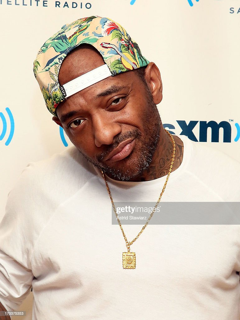 Rapper Prodigy visits the SiriusXM Studios on June 12, 2013 in New York City.