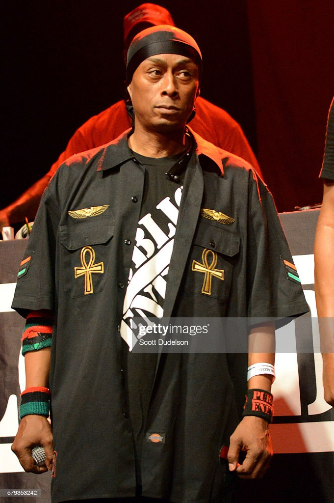 Rapper Professor Griff of Public Enemy performS onstage at the Art of Rap festival at the Hollywood Palladium on July 22, 2016 in Los Angeles, California.