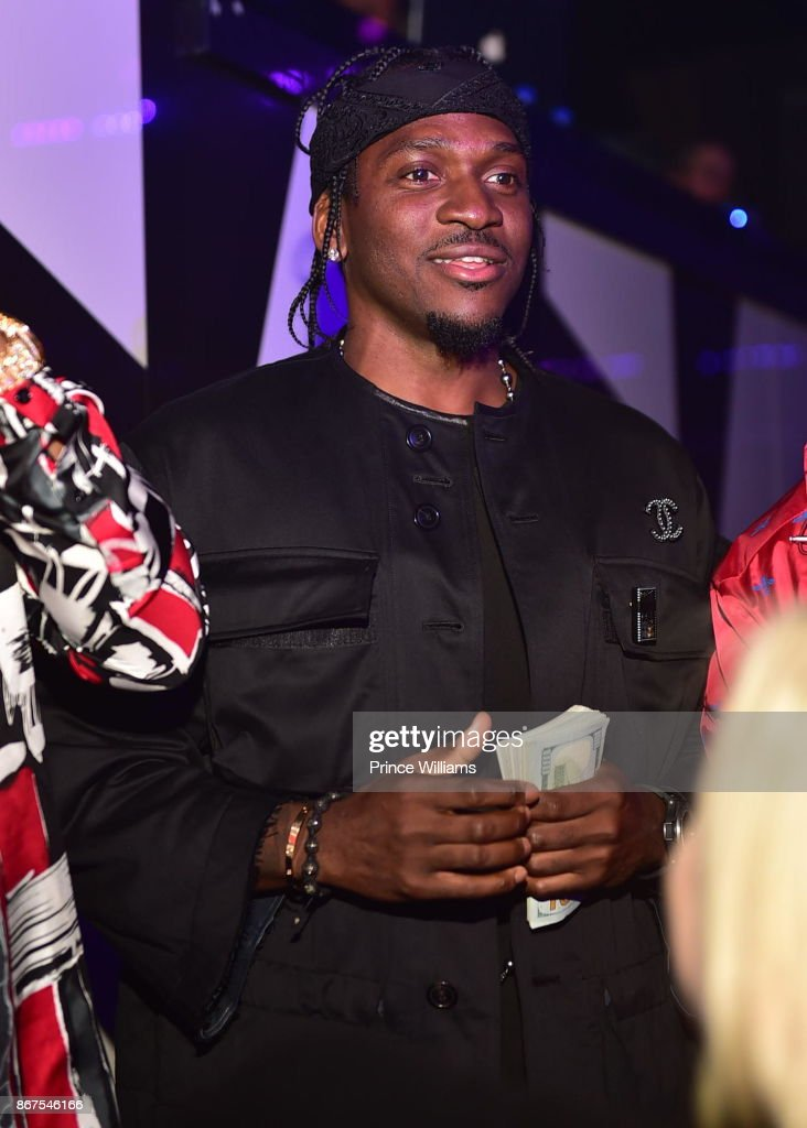 Exceptional Rapper Pusha T Attends Mr Rugsu0027 All Black Affair At Gold Room On October 27