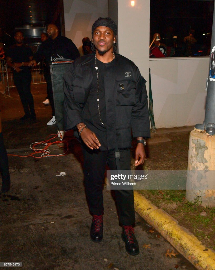 Rapper Pusha T Attends Mr Rugsu0027 All Black Affair At Gold Room On October 27