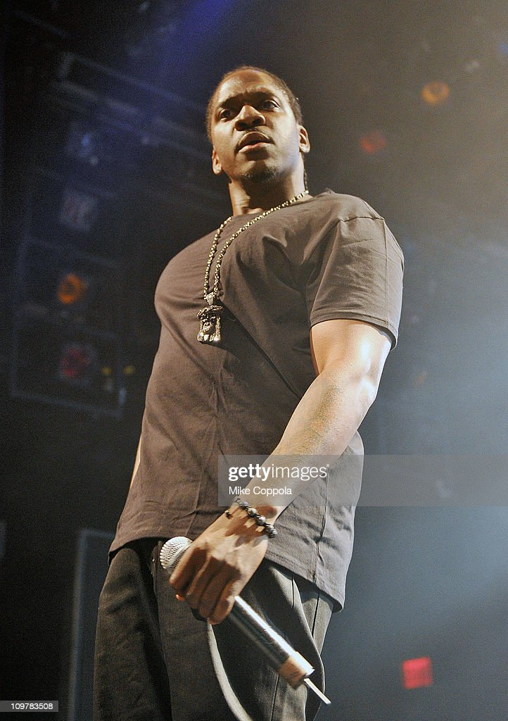Rapper PUSHA T performs at the Best Buy Theater on March 4, 2011 in New York City.