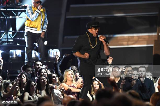 Rapper QTip of A Tribe Called Quest performs onstage during The 59th GRAMMY Awards at STAPLES Center on February 12 2017 in Los Angeles California