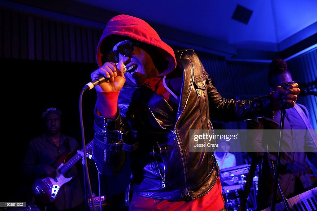 Rapper QTip performs as Sonos and Blue Note Records celebrate 75 years of jazz music and the launch of the Blue Note Limited Edition Sonos Speaker at...