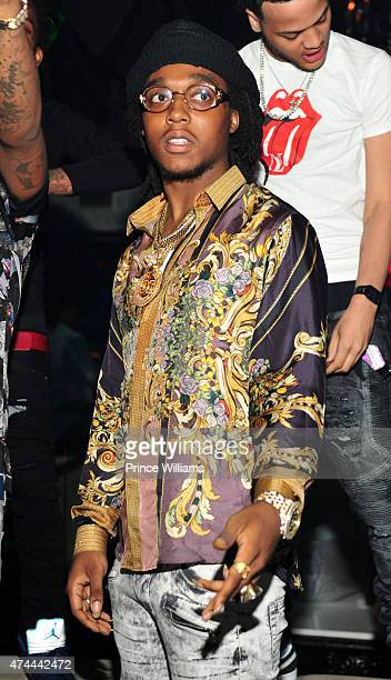 Rapper Quavo of the group Migos attends at Prive on May 8 2015 in Atlanta Georgia