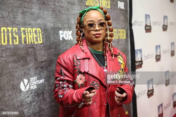 Rapper Radio Host Shawntae Harris 'Da Brat' attends the 2017 Black Women Film Network Opening Night Screening of 'Shots Fired' on FOX at the National...