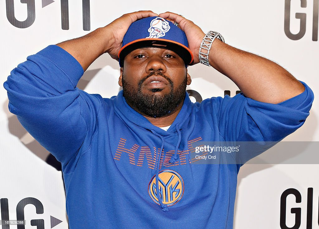 Rapper <a gi-track='captionPersonalityLinkClicked' href=/galleries/search?phrase=Raekwon&family=editorial&specificpeople=798556 ng-click='$event.stopPropagation()'>Raekwon</a> attends the Gig-It Launch Party at Capitale Bowery on April 30, 2013 in New York City.