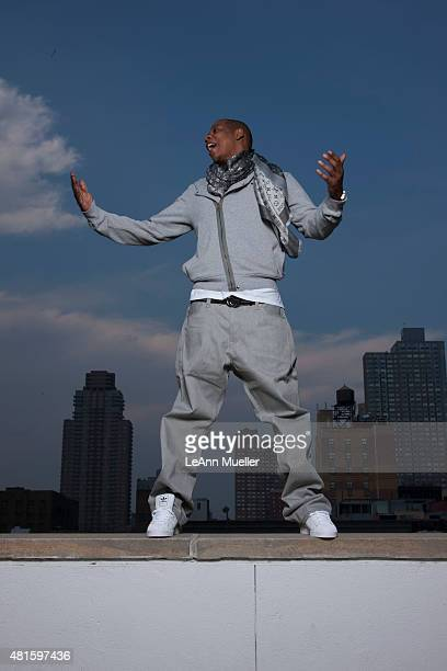 Rapper record producer and entrepreneur JayZ is photographed for Vibe Magazine on June 16 2008 in New York City