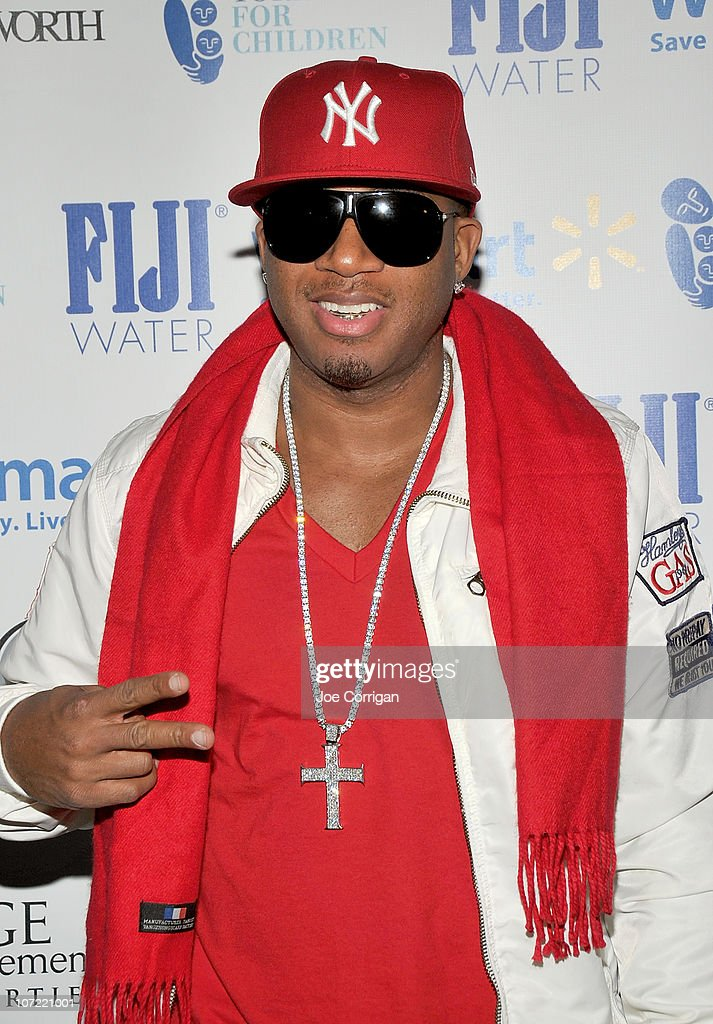 Rapper Red Cafe attends the New Yorkers for Children Wrap to Rap benefit at The Ainsworth on November 30 2010 in New York City
