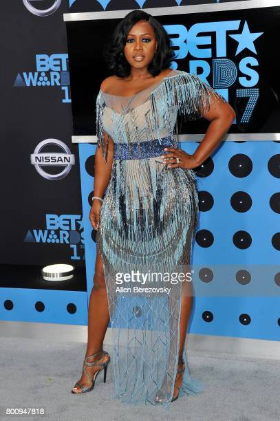 Rapper Remy Ma arrives at the 2017 BET Awards at Microsoft Theater on June 25 2017 in Los Angeles California