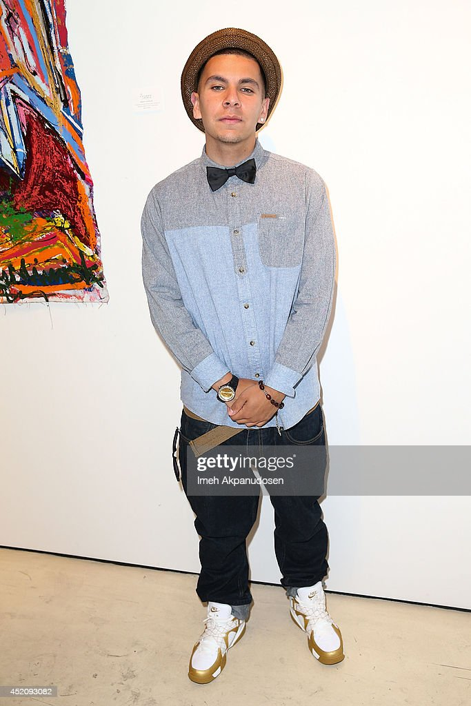 Rapper Rezzi attends a ZTPR Agency Summer Soiree at Gallerie Sparta on July 12, 2014 in West Hollywood, California.