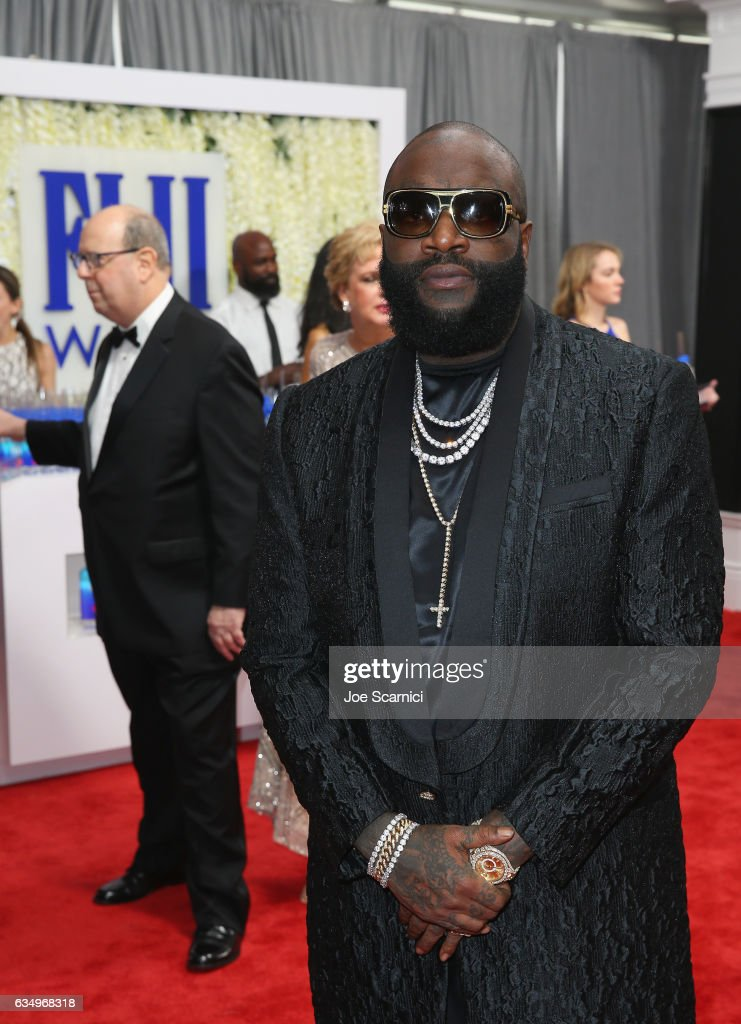 FIJI Water At The 59th Annual GRAMMY Awards