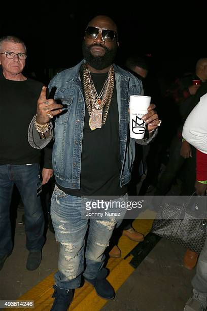 Rapper Rick Ross attends Power 1051's Powerhouse 2015 at the Barclays Center on October 22 2015 in Brooklyn NY