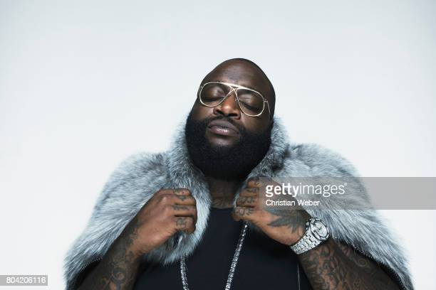 Rapper Rick Ross photographed for GQ Conde Nast on June 6 in New York City