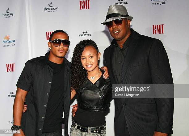Rapper Romeo Miller sister singer Cymphonique Miller and father rapper ...