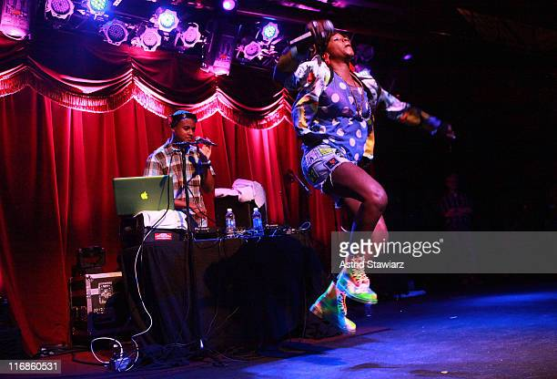 Rapper Rye Rye performs during the 2011 Northside Music Festival at Brooklyn Bowl on June 17 2011 in the Brooklyn borough of New York City
