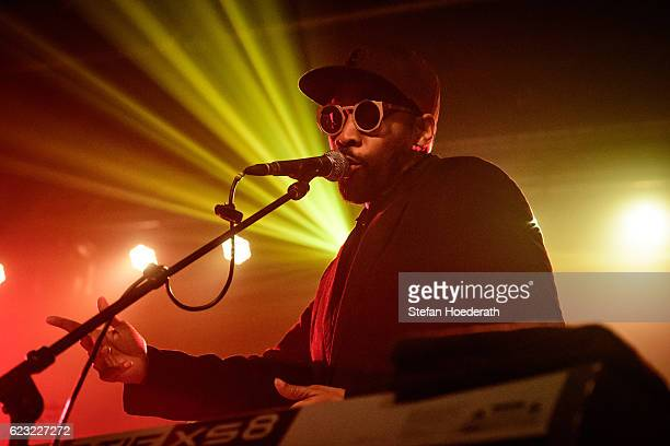 Rapper RZA of Banks Steelz performs live on stage during a concert at Postbahnhof on November 14 2016 in Berlin Germany