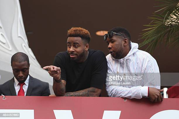 Rapper Sage The Gemini attends Big Sean's concert hosted by Revolt TV to celebrate his new album 'Dark Sky Paradise' at Hollywood Highland Courtyard...