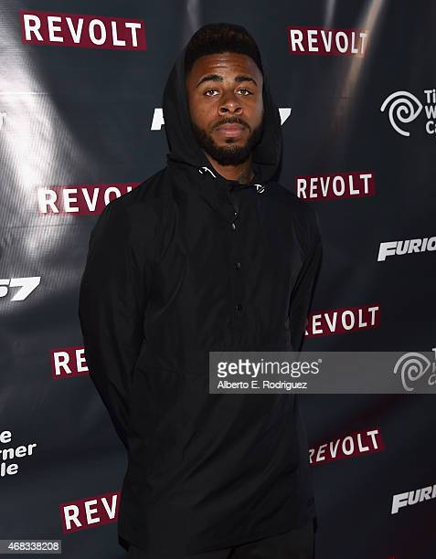 Rapper Sage the Gemini attends Revolt Live Hosts Exclusive 'Furious 7' Takeover with Musical Performances From the Official Motion Picture Soundtrack...