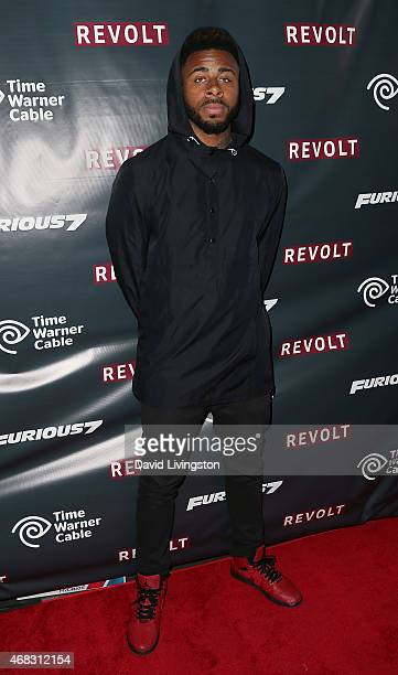 Rapper Sage The Gemini attends the exclusive 'Furious 7' Takeover with musical performances from the official movie soundtrack hosted by Revolt Live...