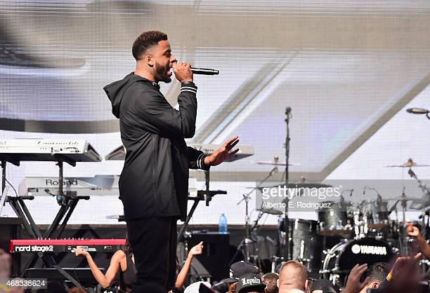Rapper Sage the Gemini performs at Revolt Live Hosts Exclusive 'Furious 7' Takeover with Musical Performances From the Official Motion Picture...