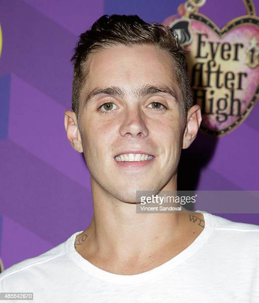 Rapper Sammy Adams attends Just Jared's Way To Wonderland presented by Ever After High at Greystone Manor Supperclub on August 27 2015 in West...