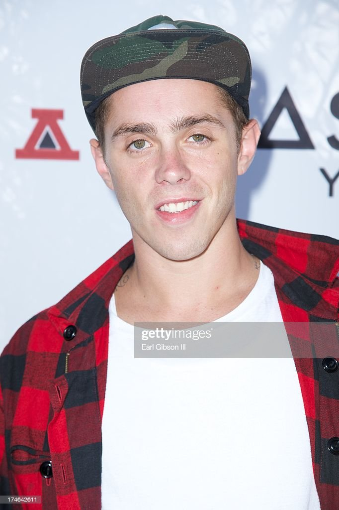 Rapper <a gi-track='captionPersonalityLinkClicked' href=/galleries/search?phrase=Sammy+Adams+-+Musician&family=editorial&specificpeople=10066677 ng-click='$event.stopPropagation()'>Sammy Adams</a> attends the Asphalt Yacht Clubs launch of their apparel line at Malibu Inn on July 27, 2013 in Malibu, California.