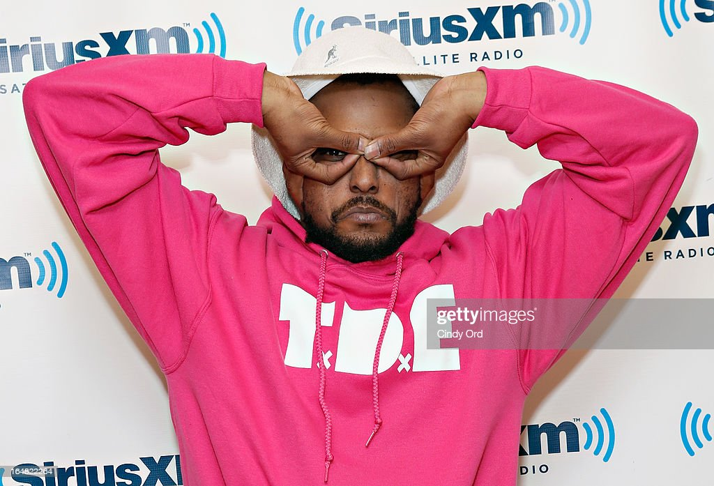 Rapper ScHoolboy Q of Black Hippy visits the SiriusXM Studios on March 28, 2013 in New York City.