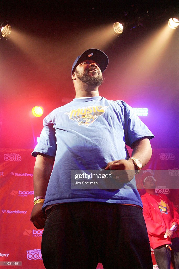 Rapper <a gi-track='captionPersonalityLinkClicked' href=/galleries/search?phrase=Sean+Price+-+Rapper&family=editorial&specificpeople=14972656 ng-click='$event.stopPropagation()'>Sean Price</a> performs during the 2012 Rock The Bells Festival Press Conference And Fan Appreciation Party on June 13, 2012 in New York City.