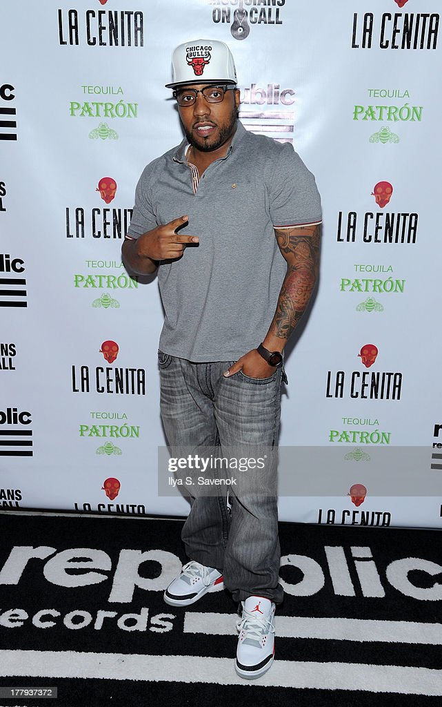 Rapper Shawn Mims attends Republic Records MTV VMA Viewing & After Party at La Cenita on August 25, 2013 in New York City.