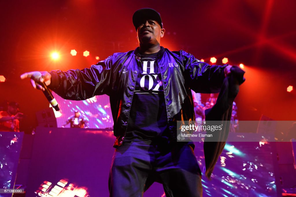 Rapper Sheek Louch of the group The Lox performs live on stage for the Ruff Ryder's Reunion Tour 2017 at Barclays Center of Brooklyn on April 21, 2017 in New York City.