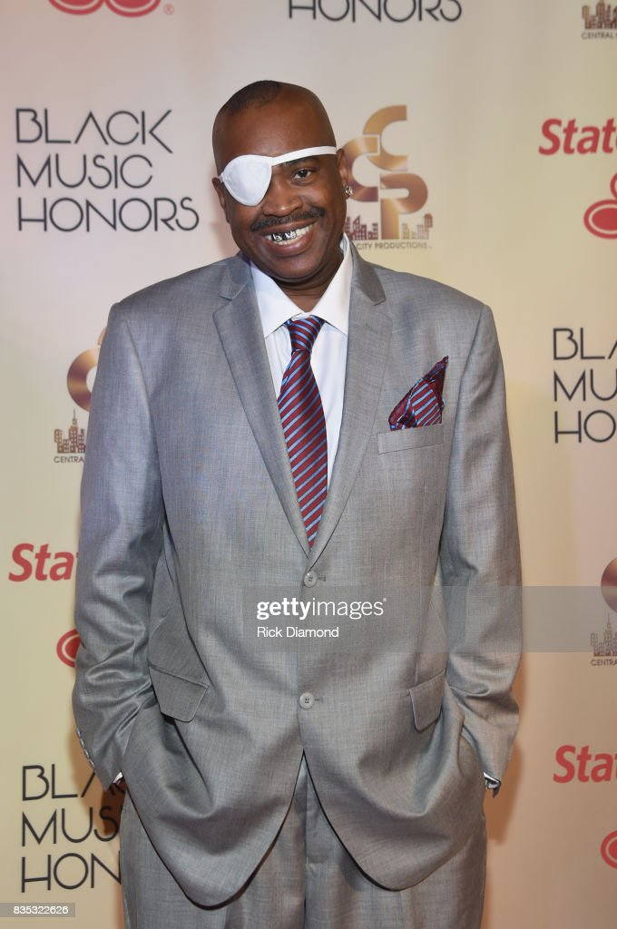 Rapper Slick Rick arrives at the 2017 Black Music Honors at Tennessee Performing Arts Center on August 18, 2017 in Nashville, Tennessee.