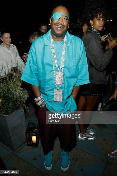 Rapper Slick Rick attends the Flaunt and Reebok 'The Eternal Issue' celebration hosted by Future at Sixty Hotel Soho on September 8 2017 in New York...