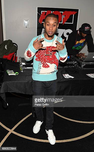 Rapper Slim Jimmy of Rae Sremmurd attends the 2016 Wish Fest at Andretti on December 20 2016 in Marietta Georgia
