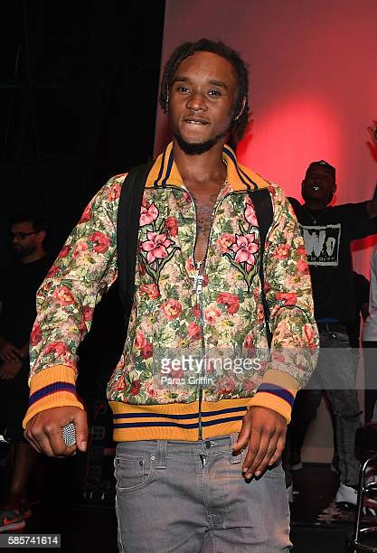 Rapper Slim Jimmy of Rae Sremmurd performs onstage at 'SremmLife 2' private listening session at TreeSound Studios on August 3 2016 in Norcross...