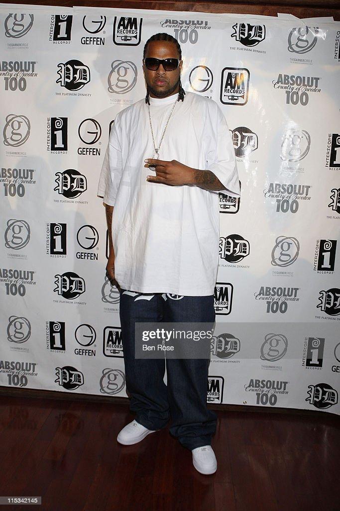 Rapper Slim Thug attends The IGA/The Platinum Dynasty/The Garner Circle BET Hip Hop Awards 2007 Gift Suite at Opera on October 12, 2007 in Atlanta, GA.