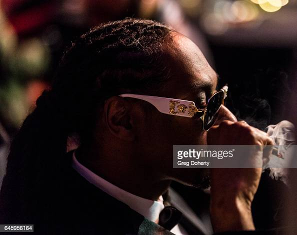 Rapper Snoop Dog attends the 2nd Annual All Def Movie Awards at Belasco Theatre on February 22 2017 in Los Angeles California