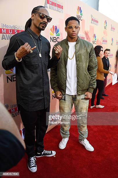 Rapper Snoop Dogg and Cordell Broadus attend the 2015 iHeartRadio Music Awards which broadcasted live on NBC from The Shrine Auditorium on March 29...