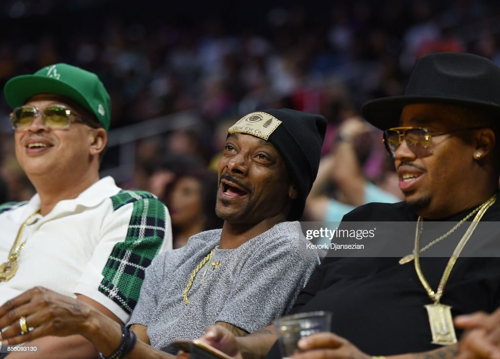 Celebrities At The WNBA Finals - Game Three