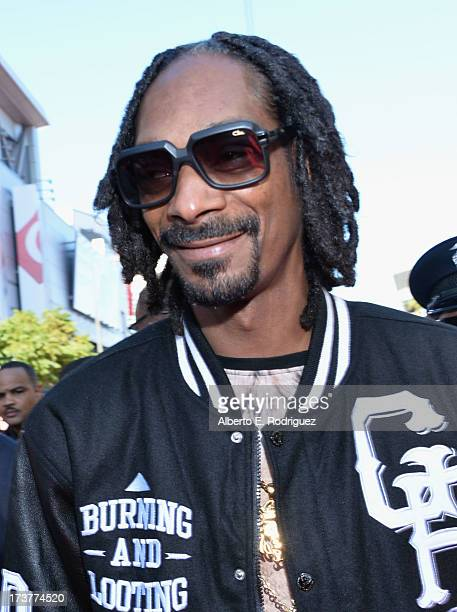 Rapper Snoop Dogg attends The 2013 ESPY Awards at Nokia Theatre LA Live on July 17 2013 in Los Angeles California
