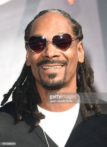 Rapper Snoop Dogg attends the 2014 MTV Video Music Awards at The Forum on August 24 2014 in Inglewood California