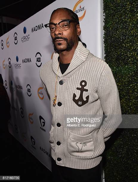 Rapper Snoop Dogg attends the ALL Def Movie Awards at Lure Nightclub on February 24 2016 in Hollywood California