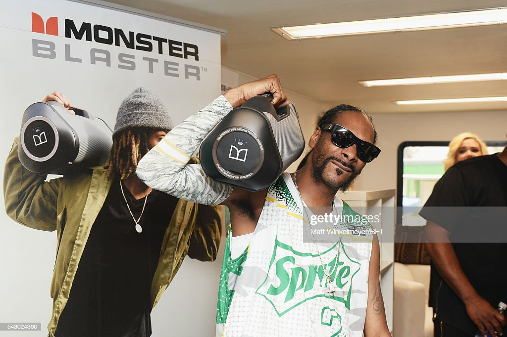 Rapper Snoop Dogg attends the BETX gifting suite during the 2016 BET Experience on June 25, 2016 in Los Angeles, California.