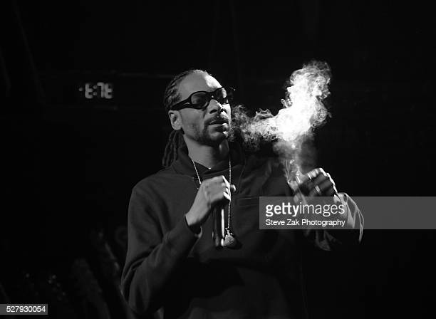 Rapper Snoop Dogg performs at 2nd Annual National Concert Day Show at Irving Plaza on May 3 2016 in New York City