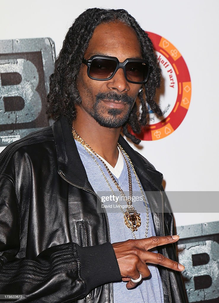Rapper Snoop Lion attends the 8th Annual BTE All-Star Celebrity Kickoff Party at the Playboy Mansion on July 15, 2013 in Beverly Hills, California.