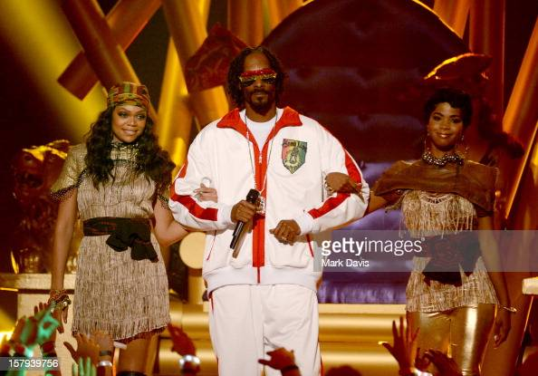 Rapper Snoop Lion onstage during Spike TV's 10th annual Video Game Awards at Sony Studios on December 7 2012 in Culver City California